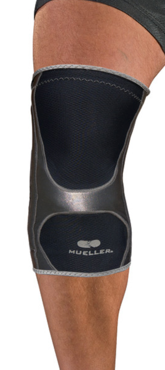 Mueller Sports Medicine Hg80 Knee Support, Black, X-Small - XX-Large