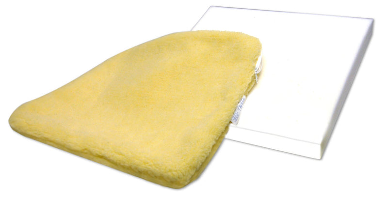 SkiL-Care Solid Foam Cushion w/Sheepskin Cover