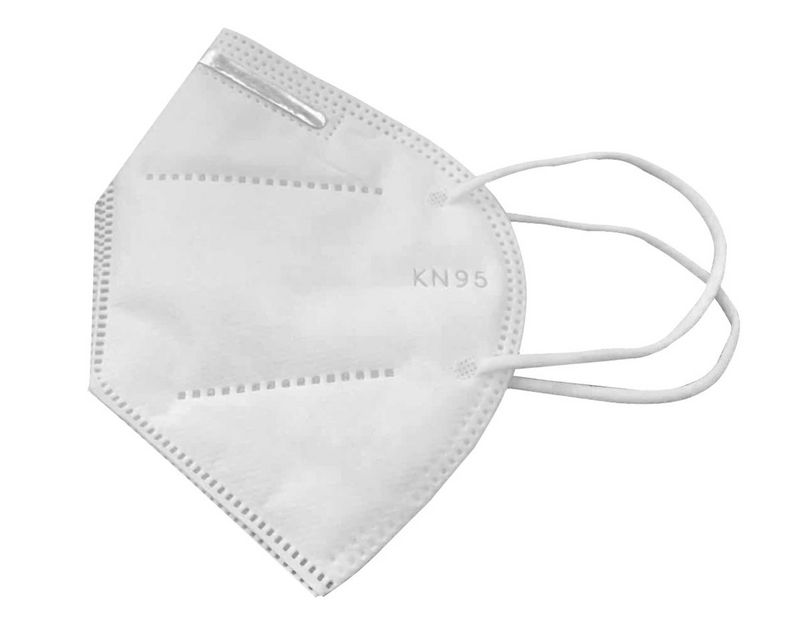 KN95 Masks - 4 ply - Pack of 5 - Individually wrapped