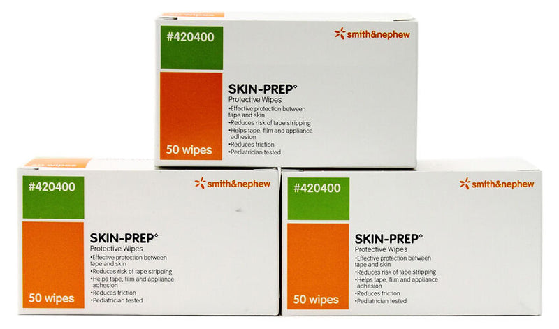 Smith and Nephew Skin Prep - Protective Barrier Wipes 50 ct/box