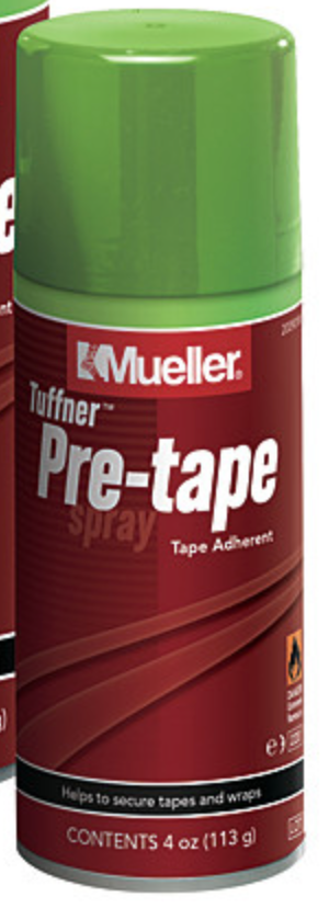 Mueller Tuffner Pre-Tape Spray - Aerosol spray 4 oz or 10 oz