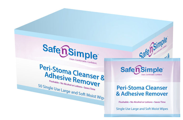Safe n' Simple Peri-Stoma Adhesive Remover Wipe