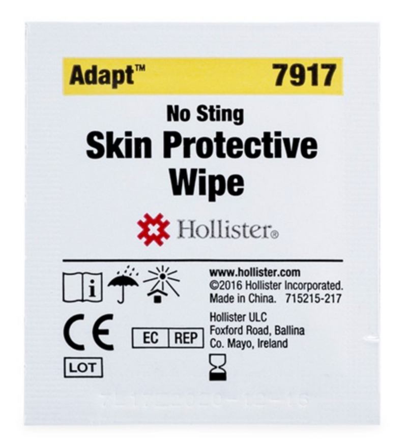 Hollister 7917 Skin Protective Wipes 50 ct