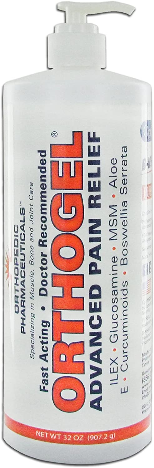 Orthogel Advanced Cold Therapy Pain Relief Gel