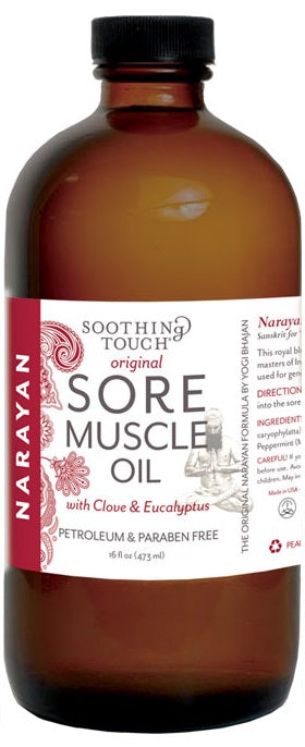 Soothing Touch Pain Relief - Herbal Ice or Heat or Narayan Balm, Gel or Oil