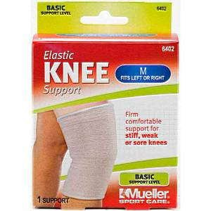 Mueller Elastic Knee Support, Medium - X-Large - 6402A/6403 /6404