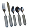 Kinsman Enterprises Youth Weighted Utensils, Regular, Angled and or Plastisol Coated