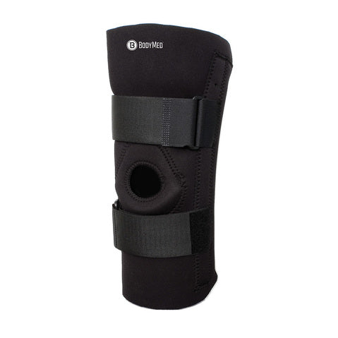 Body Sport Neoprene Knee Brace with Removable Stays, Small - 2X-Large