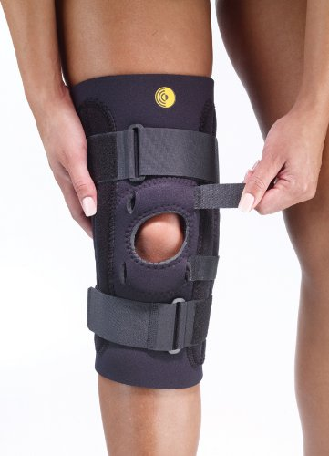 "Corflex 13"" Kinetic Posterior Adjustable Knee Sleeve w/Cor-Trak Buttress, 3/16"""