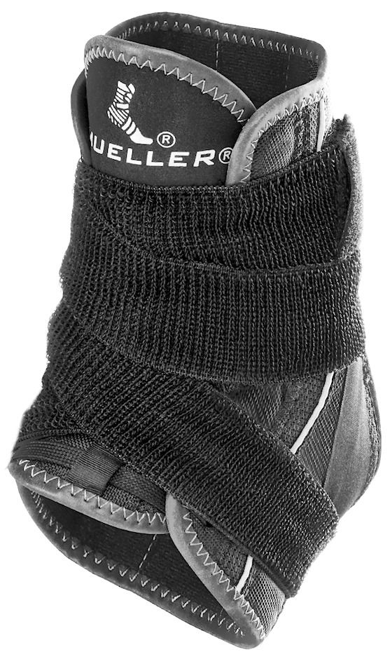Mueller Hg80 Premium Soft Ankle Brace with Straps - X-Small - XX-Large
