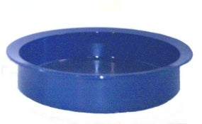 "Kinsman High Sided Dish, 9"" Diameter, 2"" Height, Blue 15241"