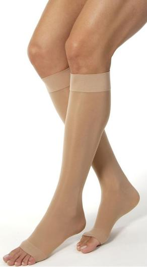 JOBST Women's Ultrasheer Knee High Classic 20-30 mmHg Open Toe