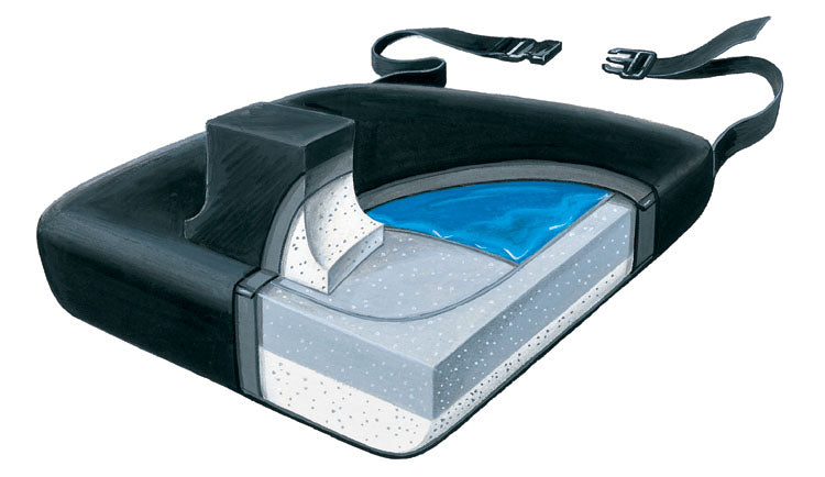 SkiL-Care Leg Abductor Foam Vinyl Cushion