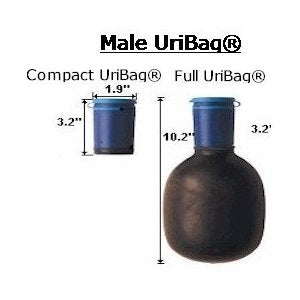 Kinsman Male or Female Uribag Urinal