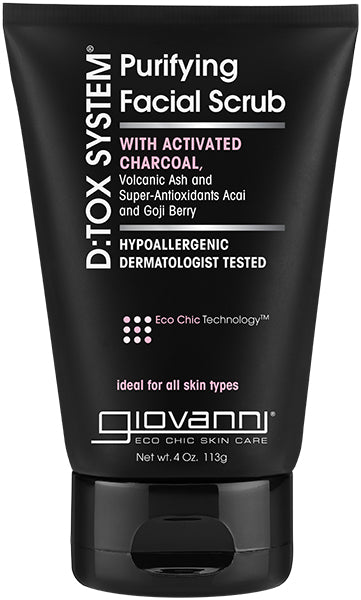 Giovanni D:tox System Purifying Facial Scrub, 4 Ounce