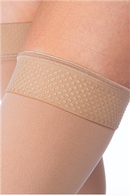 JOBST Relief Petite Silicone Compression Thigh High, 20-30 mmHg Closed Toe