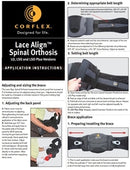 Corflex Lace Align Lumbar Orthosis (LO)