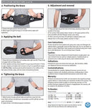 Corflex Lace Align Lumbosacral Orthosis (LSO)