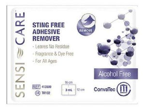 Convatec Adhesive Remover Sensi-care Wipe, Box Of 30