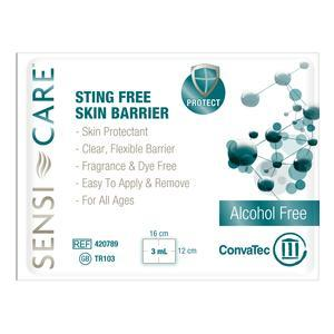Convatec Sensi-Care Sting Free Protective Skin Barrier Wipes, Box of 30