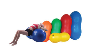 CanDo® Inflatable Exercise Saddle Rolls