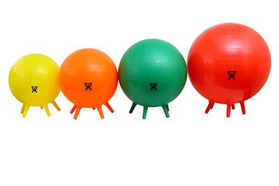 CanDo® Inflatable Exercise Balls with Feet
