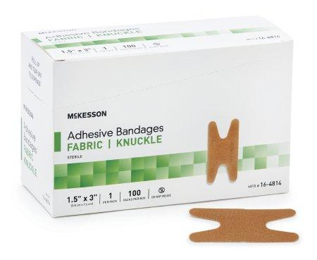 McKesson Knuckle Fabric Adhesive Bandage