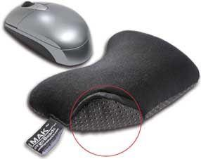 Imak Mouse Cushion Black - Non-Skid