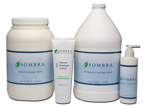 Sombra Natural Massage Lotion, 8 oz or 1 gallon bottle