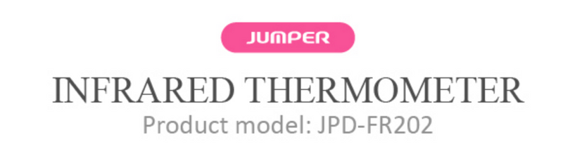 Jumper Health Infrared Thermometer - Infant/Toddler/Children
