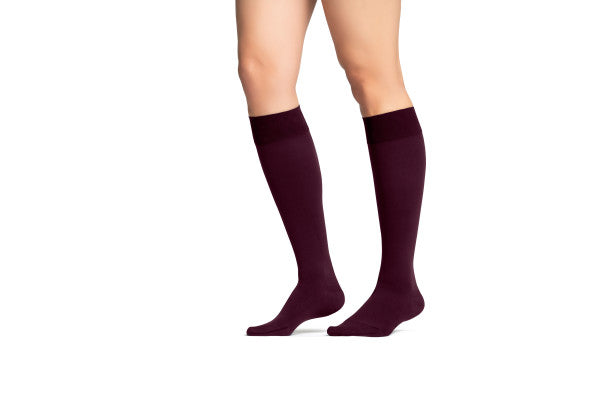 JOBST® Maternity Opaque Knee High Compression Stockings, 20-30 mmHg, Closed Toe