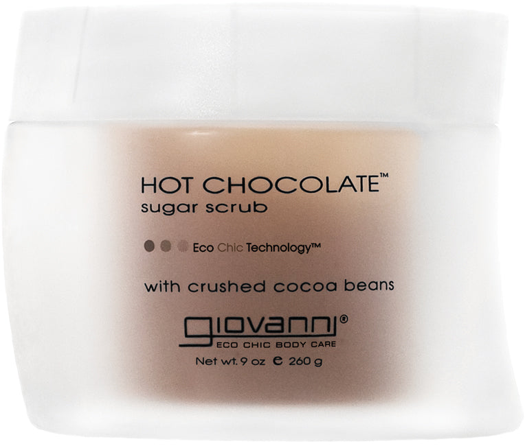 Giovanni Sugar Scrub, Hot Chocolate, 9 oz (260 g)