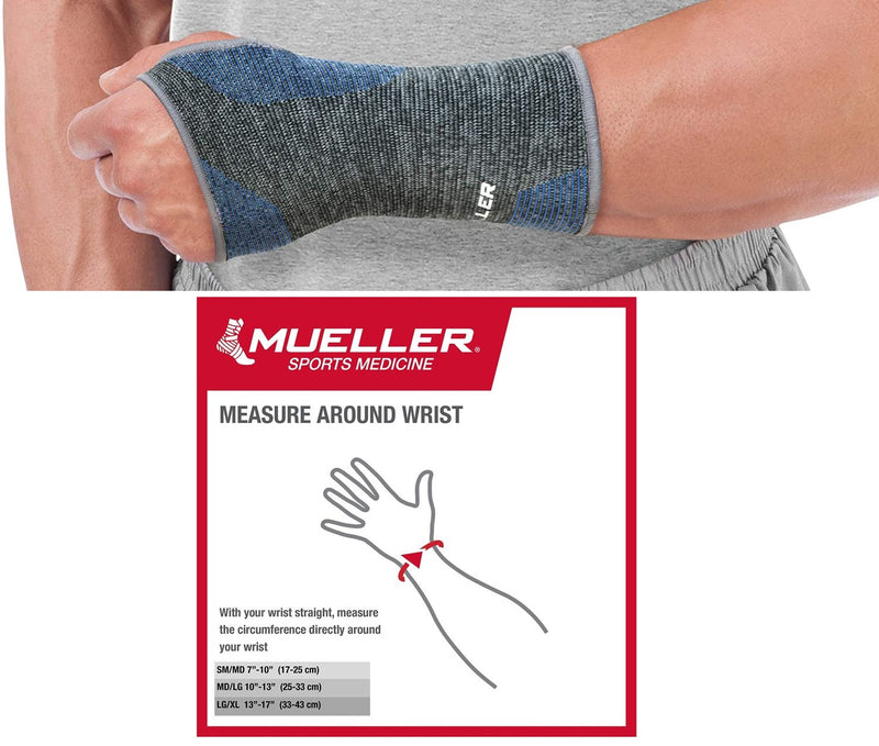 Mueller 4-Way Stretch Premium Knit Wrist Support