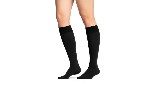 JOBST® Maternity Opaque Knee High Compression Stockings, 15-20 mmHg, Closed Toe