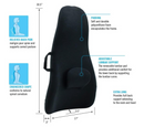 ObusForme by Homedics OFHB-BLK Highback Backrest Support