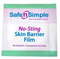 Safe n' Simple No-Sting Skin Barrier Wipes, Wands or Spray