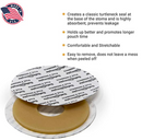 Safe n' Simple Conforming Skin Barrier Ring Adhesive Seals, 10 Rings/Box