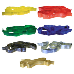 TheraBand Non-Latex CLX Consecutive Loops, Individual, Gold