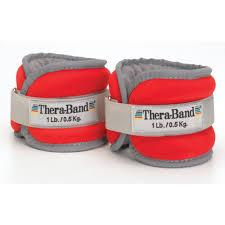 TheraBand Comfort Fit Ankle & Wrist Weight Sets