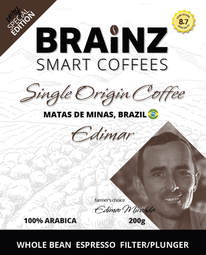 Single Origin - Edimar Brazil (100 % Arabica)
