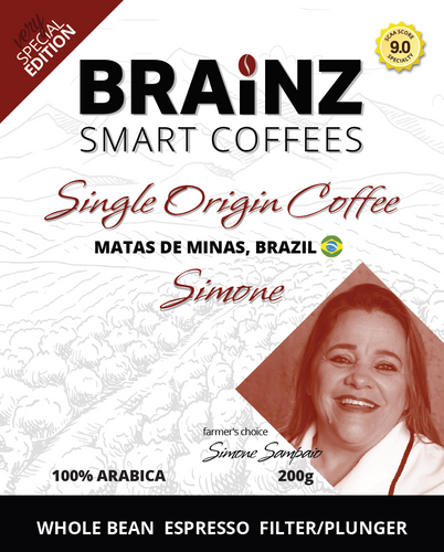 Single Origin - Simone Brazil (100 % Arabica)