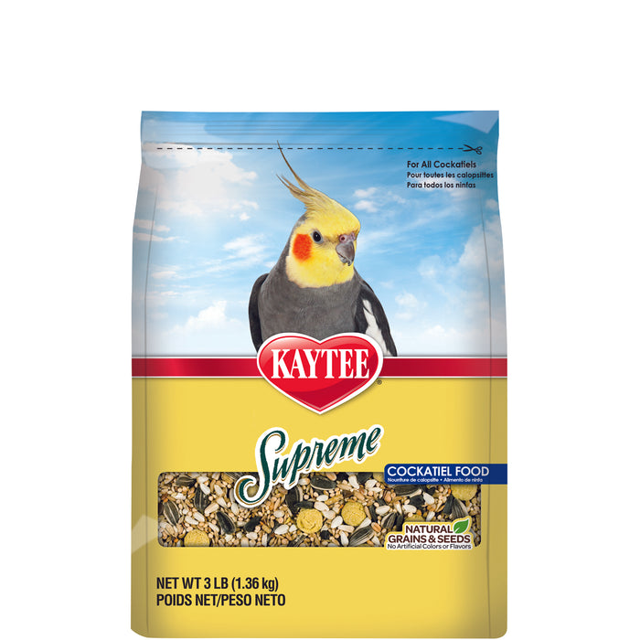 Kaytee Supreme Cockatiel Food 5lb