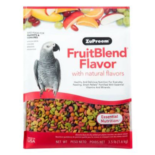 Zupreem Fruit Blend Medium/Large (Parrots and Conures) 3.5lb