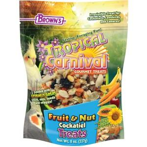 Browns Tropical Carnival Fruit and Nut Cockatiel Treat 8oz