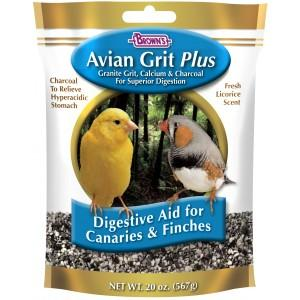 Browns Avian Grit Plus Canaries and Finch 20oz