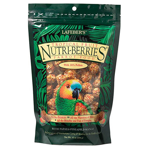 Lafeber Tropical Fruit Nutri-Berries Parrot 10oz