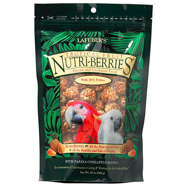 Lafeber Tropical Fruit Nutri-Berries Macaw 10oz
