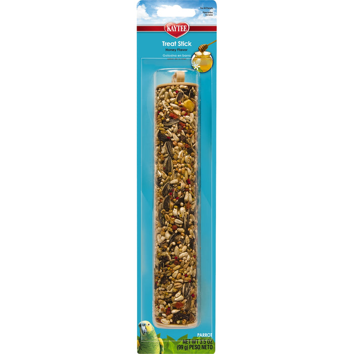 Kaytee Forti-Diet Pro Health Honey Parrot Bird Treat Stick 3.5oz