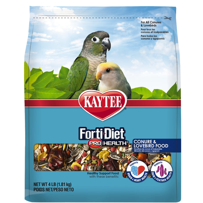 Kaytee Forti Diet Pro Health Conure and Lovebird Food 4.5lb