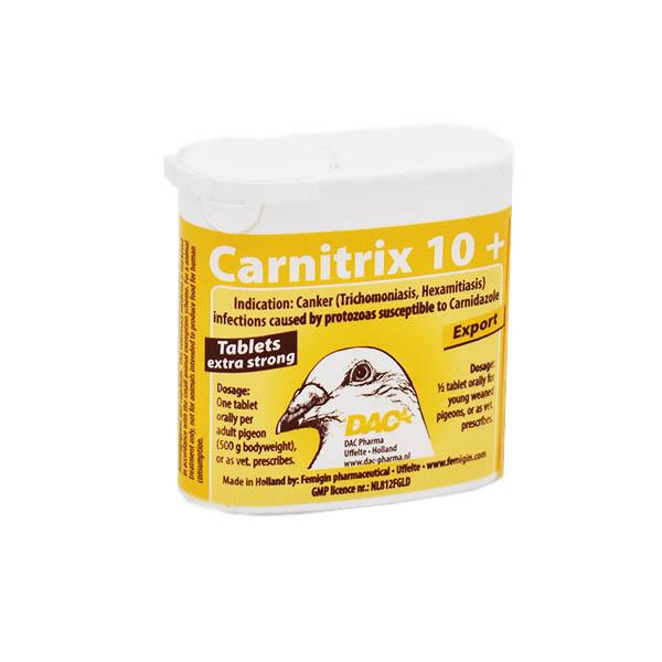 Dac Carnitrix 10+ (Spartrix) (Extra strong treatment against trichomoniasis) 9g